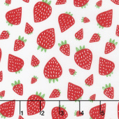 Farm Fresh - Strawberry Patch Cloud Yardage