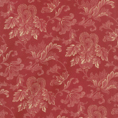"Rosewood - Flourish Cherry 108"" Wide Backing"