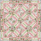 Le Bouquet Bed Quilt Kit