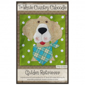 Golden Retriever Precut Fused Appliqué Pack