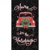 Home for the Holidays - Truck Black Panel