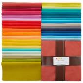 Kona Cotton Paintbox Basics Coordinates Ten Squares