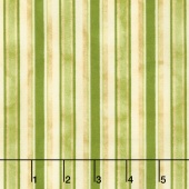 From the Farm - Awning Stripe Green Yardage