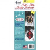 Bosal Fold N Stitch Holiday Ornaments