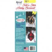 Bosal Fold N Stitch Holiday Ornaments