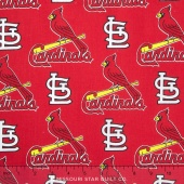 MLB Major League Baseball - St. Louis Cardinals Allover Yardage