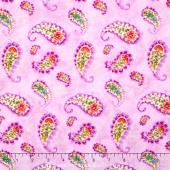Rainbow Seeds - Paisley Purple Yardage