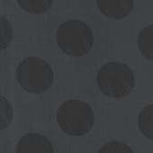 "108"" Quilt Back - Dot Black 108"" Wide Backing"