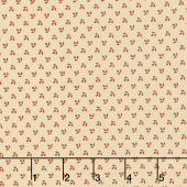 Harriet's Handwork 1820-1840 - Drawing-In Biscuit Pink Yardage