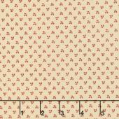 Harriet's Handwork 1820-1840 - Drawing-In Biscuit Pink Yardage