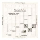 "Creative Grids 4"" Log Cabin Trim Tool"