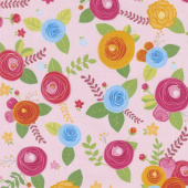 Simply Happy - Main Pink Yardage