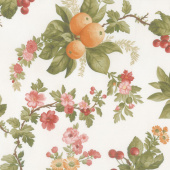 A Fruitful Life - Fruitful Floral Cream Yardage