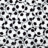 Sports - Soccer White Yardage