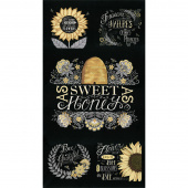 Bee Grateful - Bee Ebony Panel
