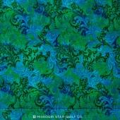 Wilmington Essentials - Embellishment Blue/Green Yardage