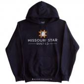 Missouri Star Logo Navy Hoodie - Small