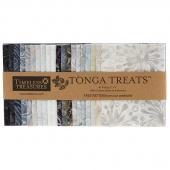 Tonga Treats Batiks - Graphite Minis