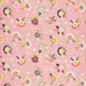 Sew Retro - Posie Pink Yardage