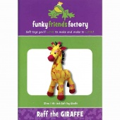 Raff Giraffe Funky Friends Factory Pattern