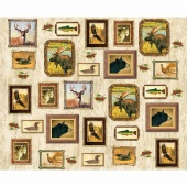 Majestic Outdoors - Majestic Animal Frames White Digitally Printed Panel