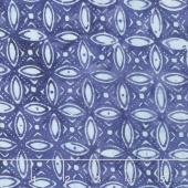 Calypso Rayon Batiks - Geometric Twilight Yardage