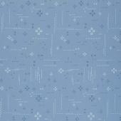 Decostitch - Elements Blue Minerale Blue Yardage