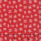 Best Friends Forever - Tic Tac Toe Red Yardage