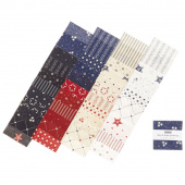 Star & Stripe Gatherings Mini Charm Pack