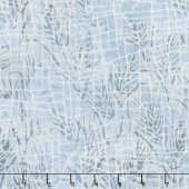 Blueberry Patch Batiks - Mosaic Lines Pewter Yardage