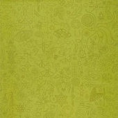 Sun Print 2020 - Embroidery Olive Yardage
