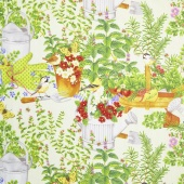 From the Garden - Garden Scenic Multi Yardage
