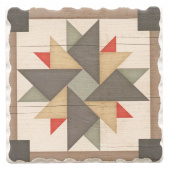 Barn Quilts Coaster - Windmill
