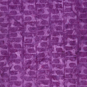 Sew Fine Batiks - Sewing Machine Grape Yardage
