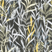 Limoncello - Willow Black Pearlized Yardage
