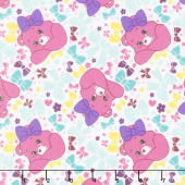 Care Bears - Sparkle & Shine Pretty Bow in White Yardage
