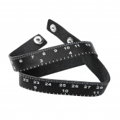 Leather Tape Measure Bracelet