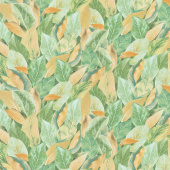 Magnolia - Leaves Sage Yardage