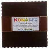 Kona Cotton Solids - Silent Film Charm Pack