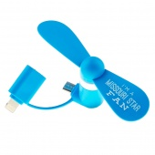 Missouri Star Cell Phone Fan - Blue