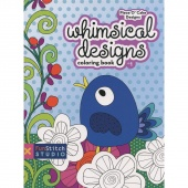 Whimsical Designs Coloring Book by Piece O' Cake Designs