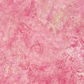 Wilmington Batiks - Pink & Tan Paisley Yardage