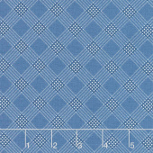 Mackinac Island - Plaid Medium Blue Yardage