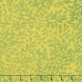 Dear Mum - Leaves Sprig Yardage