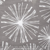"Cuddle Prints - Sparkler Graphite 60"" Minky Yardage"