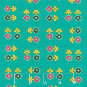 Nuncia - Always do Good Cielo Turquoise Yardage