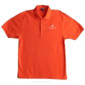 Embroidered MSQC Logo Medium Polo - Orange