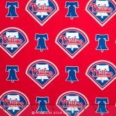 MLB Major League Baseball - Philidelphia Phillies Allover Yardage
