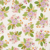 Bubbie's Buttons and Blooms - Grandma Sharon's Bouquet Oyster Stew Yardage