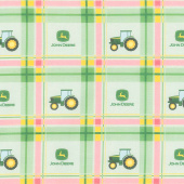 John Deere - Plaid Yardage
